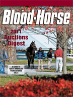 2011 Auctions Digest: A Guide to North American Thoroughbred Sales