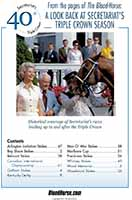From the pages of The Blood-Horse: A Look Back at Secretariat's Triple Crown Season