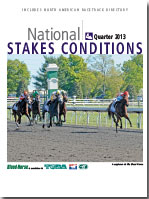 National Stakes Conditions Book - 4th Quarter 2013