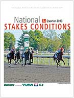 National Stakes Conditions Book - 1st Quarter 2013