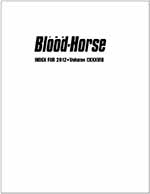 The Blood-Horse Magazine 2012 Index